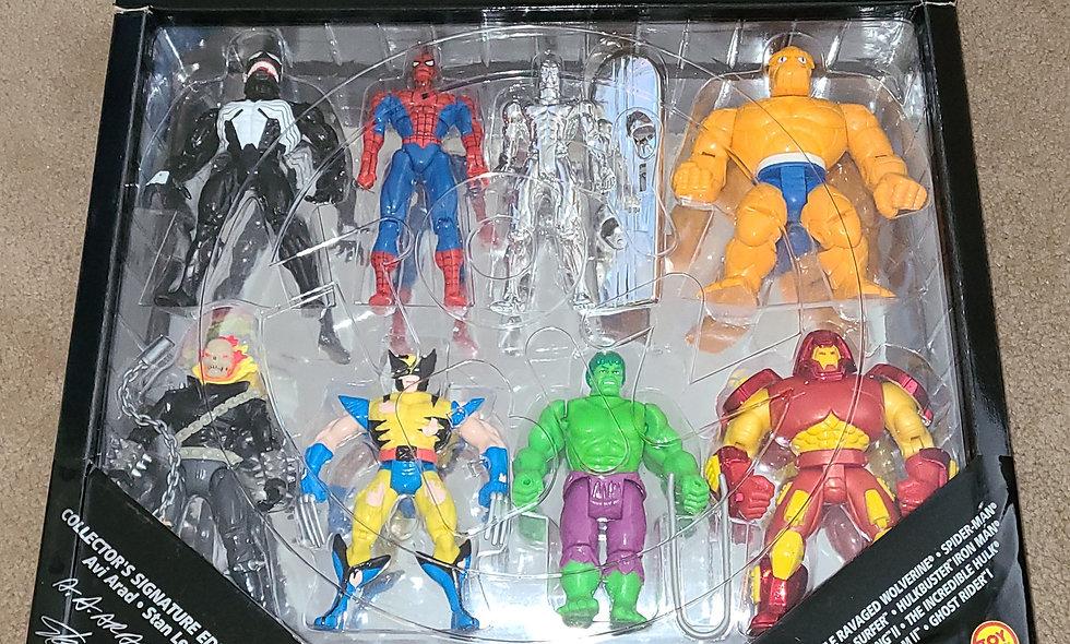Marvel : Greatest Super Heroes (8 Figure Set) :ToyBiz 1995