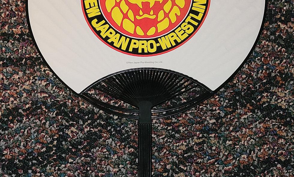 NJPW - Collage - Hand Fan