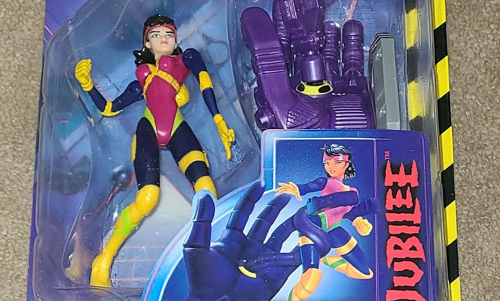 Marvel : Jubilee : Xmen Robot Fighters : ToyBiz 1997