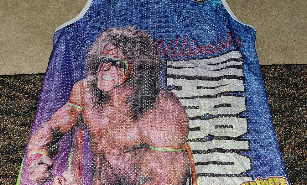 Ultimate Warrior (WWE) - 3x Tank Top New - Chalk Line