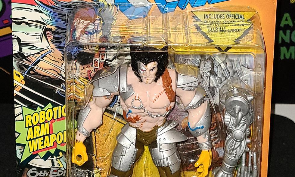 Marvel X-Men - Robot Wolverine (6th Edition) - ToyBiz