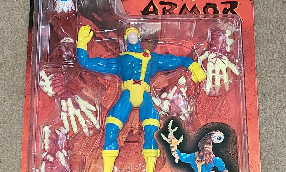 Marvel : Cyclops : X-Men Monster Armour : ToyBiz  1997