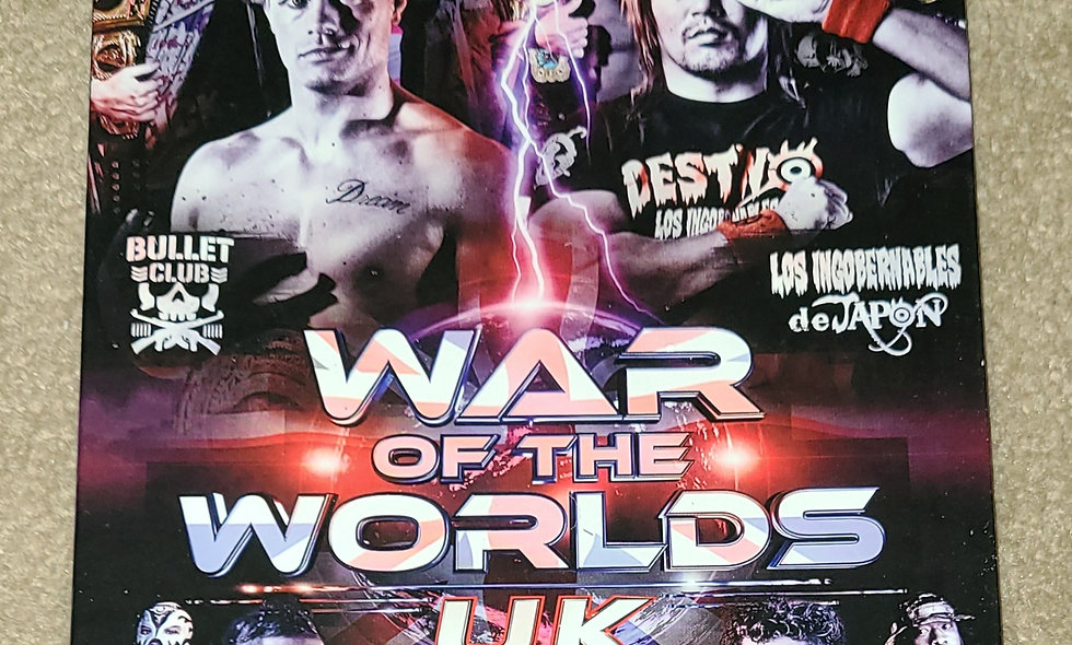 ROH - War Of The Worlds : UK - 8/18/2017 - London