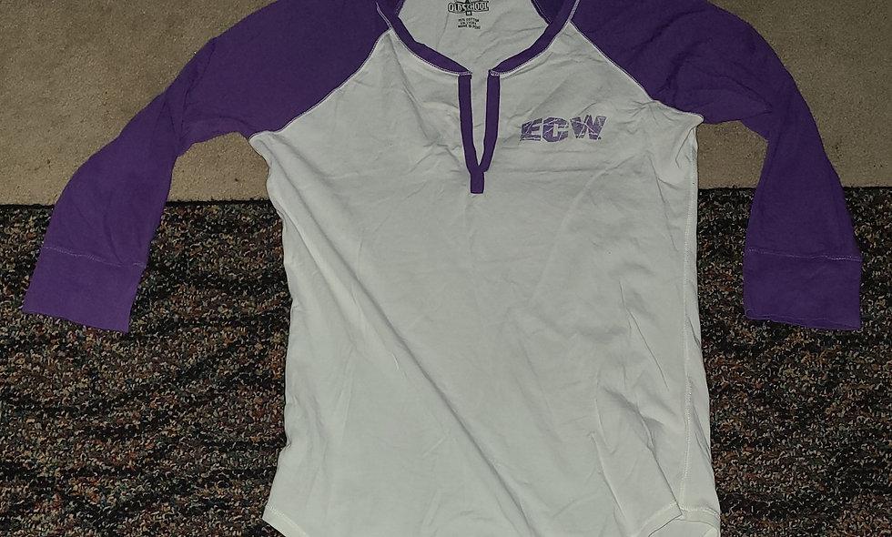 ECW (WWE) - Medium Womens  Long Sleeve T-Shirt New -