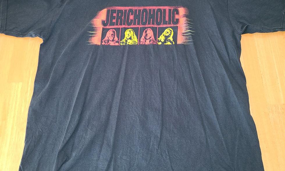 *Preowned  - Chris Jericho - Jerichoholic T-Shirt Size 2x