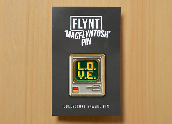 Collector's Enamel 'MacFlyntosh' Pin