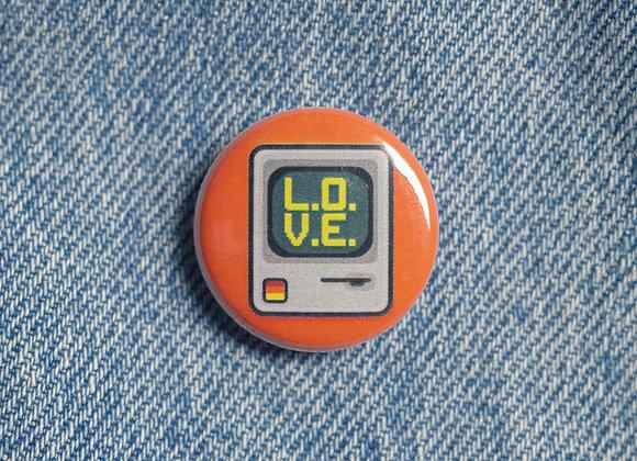 'L.O.V.E.' Badge