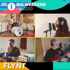 We played BBC Radio 1's Big Weekend
