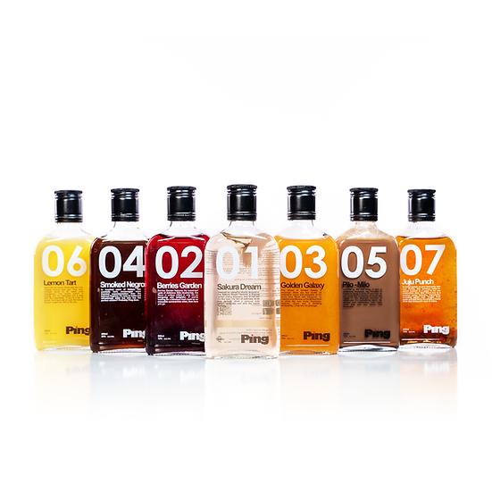 Ping Bottled Cocktail Set