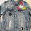 Thumbnail: P&V Distressed Denim Jacket