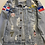 Thumbnail: P&V Distressed Denim Jacket - Personalized Patch
