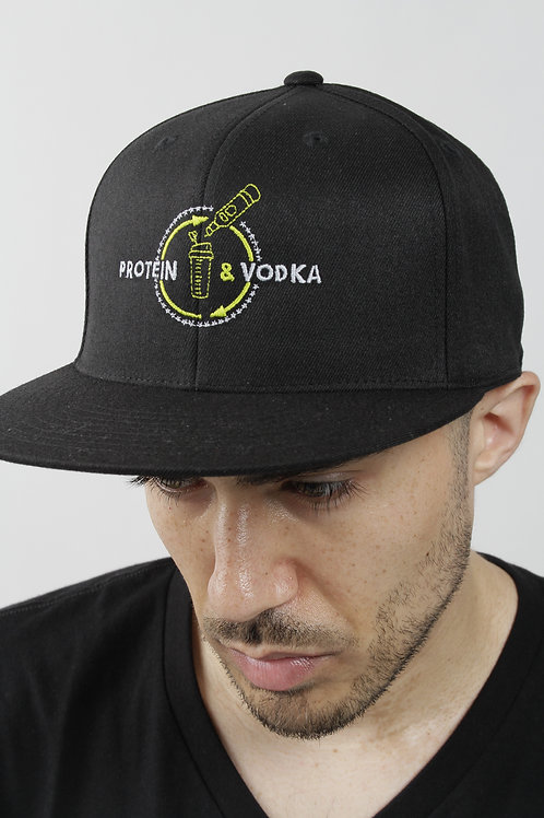 Protein & Vodka Fitted Hat
