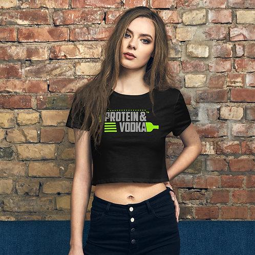 P&V Women's Crop Tee