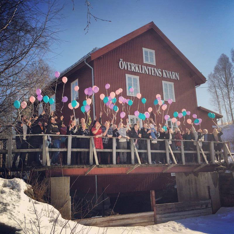 Ballonger på bron