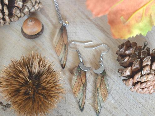 Parure ailes de fée Orphée