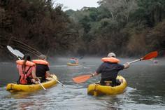 Navegación por el arroyo Paraíso