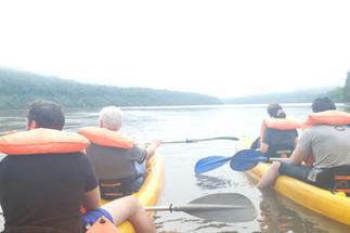 Selva y kayak