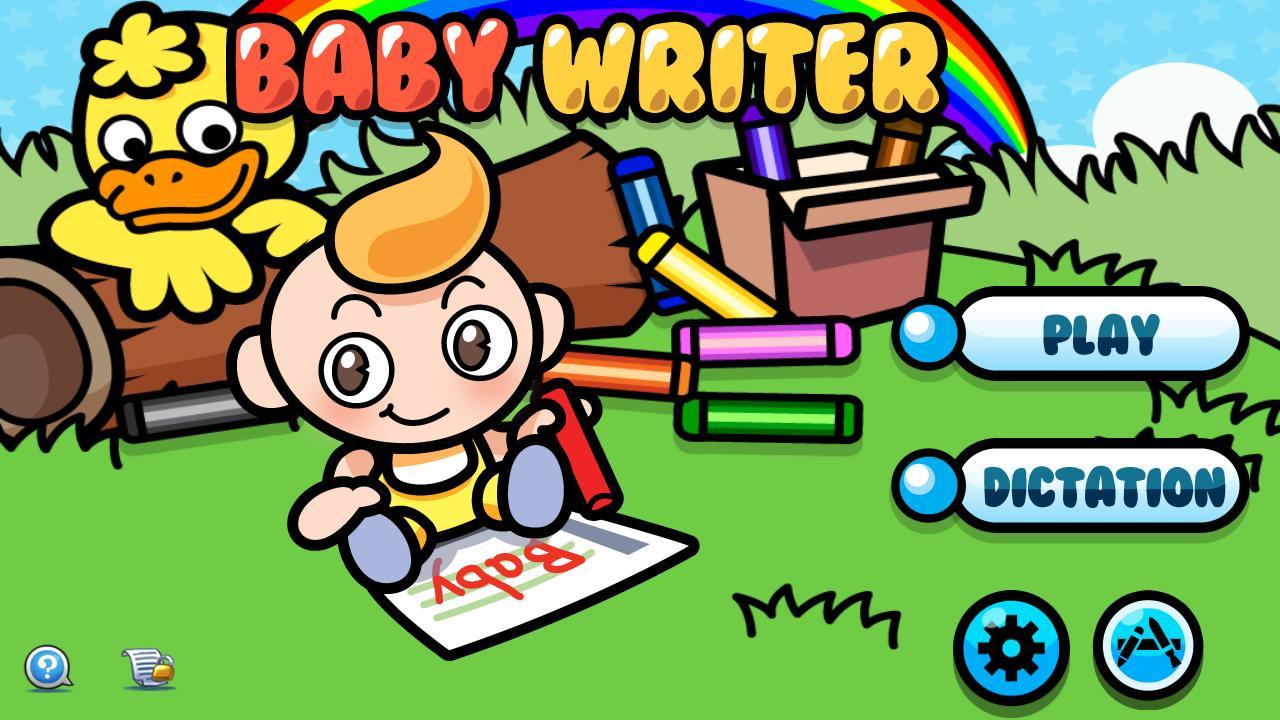 Baby Writer Screenshot 1