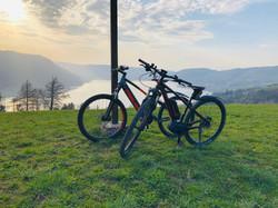 2 E-Bikes zum Mieten