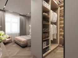 Проект квартиры 90 м2, в Москве.