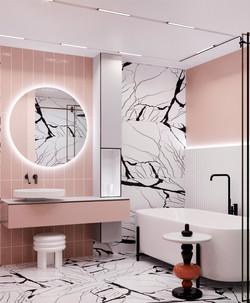 Ванная комната в проекте Детской квартиры