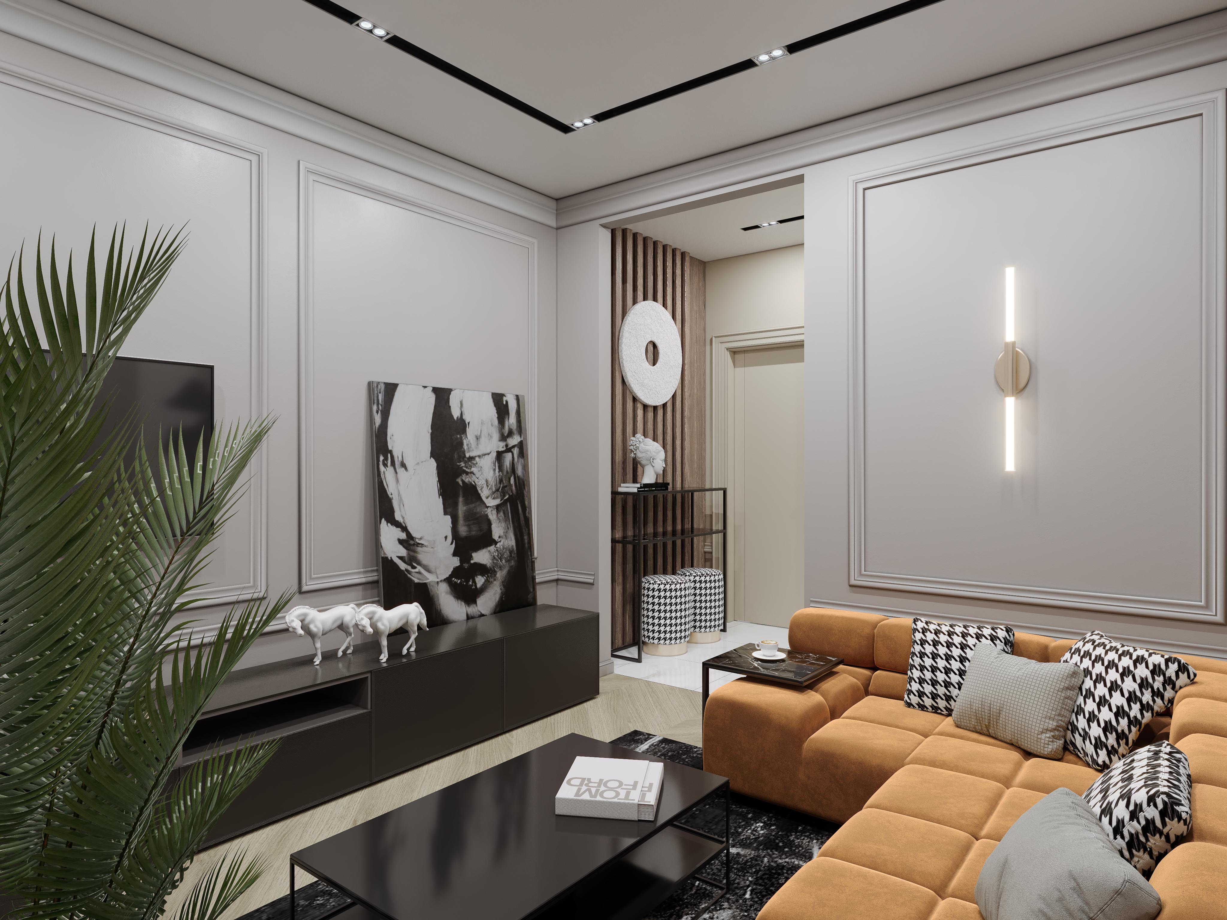 Квартира в Москве проект 2019 г.