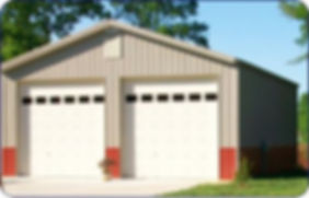 Metal Building Garage