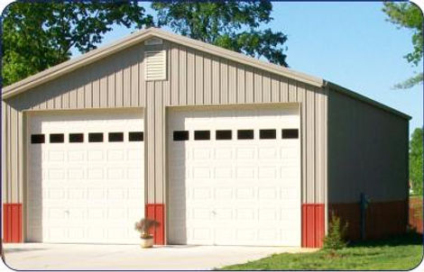 Metal Building Garage