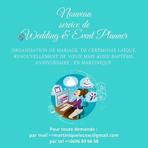 WEDDING ET EVENT PLANNER