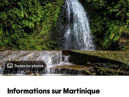 La Martinique 1st traveller's choice !