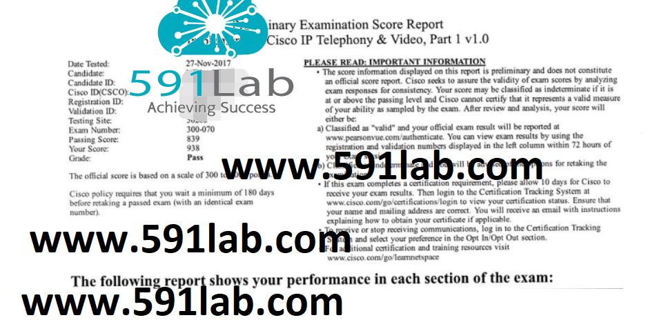 CCNP Collab 300-070 | Stable | 591lab team | CCIE, HCIE Lab ...