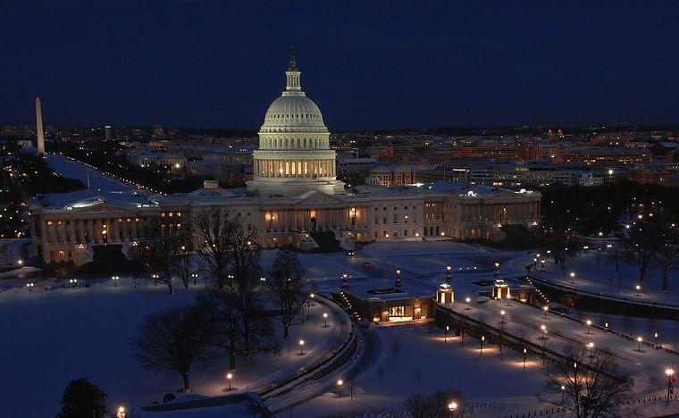washington-dc capitol at night free lega