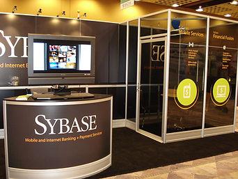 Tradeshow booth exhibit