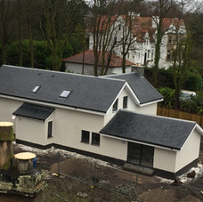 New build  roof done in spanish laluzz plot 5