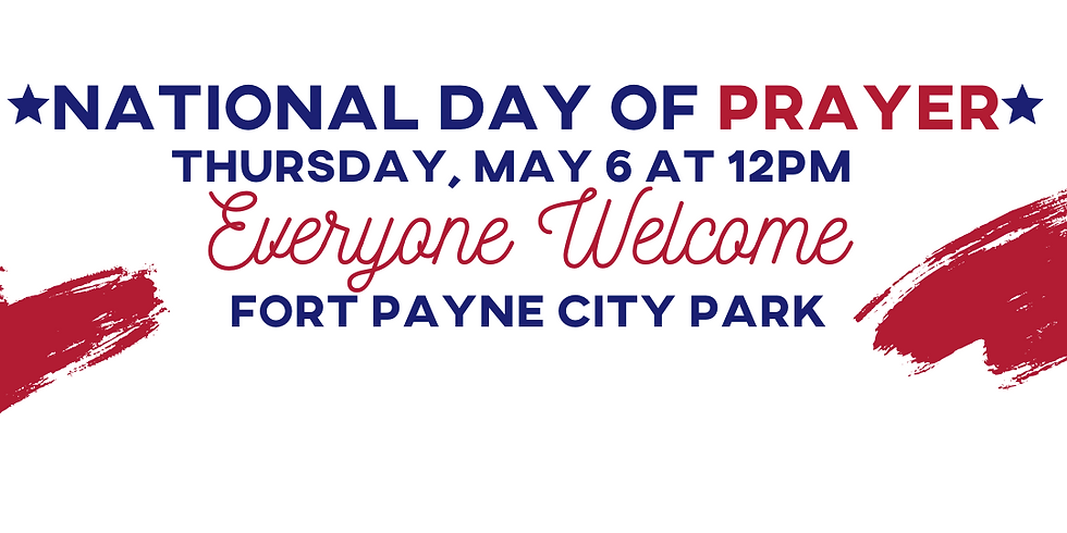 National Day of Prayer in Fort Payne City Park