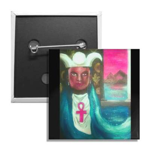 The High Priestess 2 Inch Button