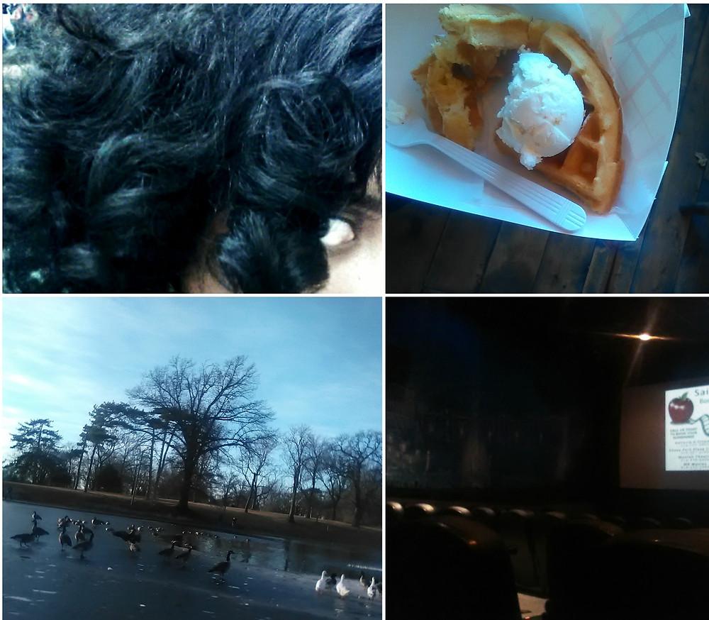 Hair, waffle and ice cream, Carondolet Park, Chase Park Plaza