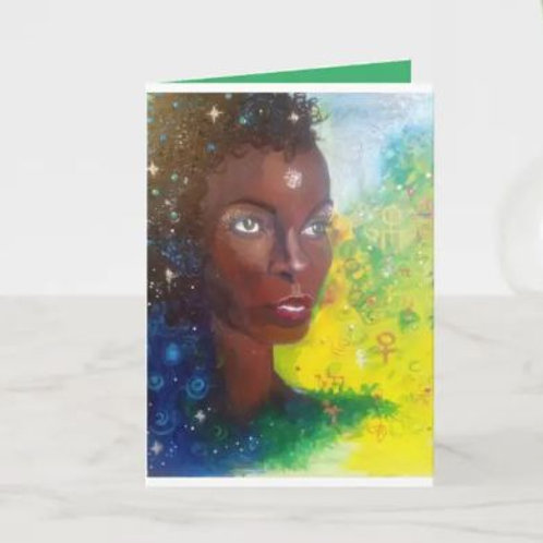 Sage of the Stars Notecard (5 X 7 inch)
