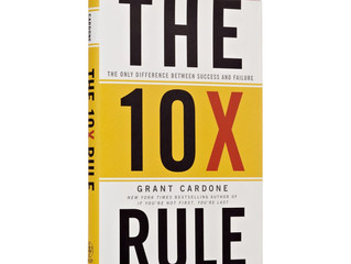 The 10X Rule (Book Review)