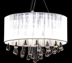 Maria Theresa  Vit lampskärm