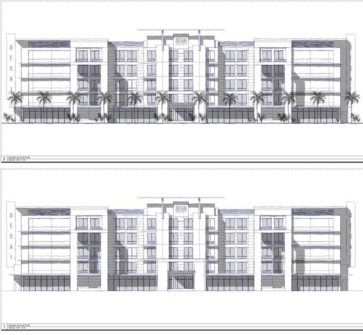 Desai Hotel Conceptual Design