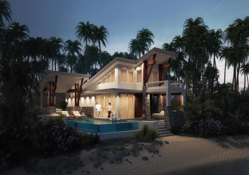 STAR Island Beach Cabana Artistic Rendering
