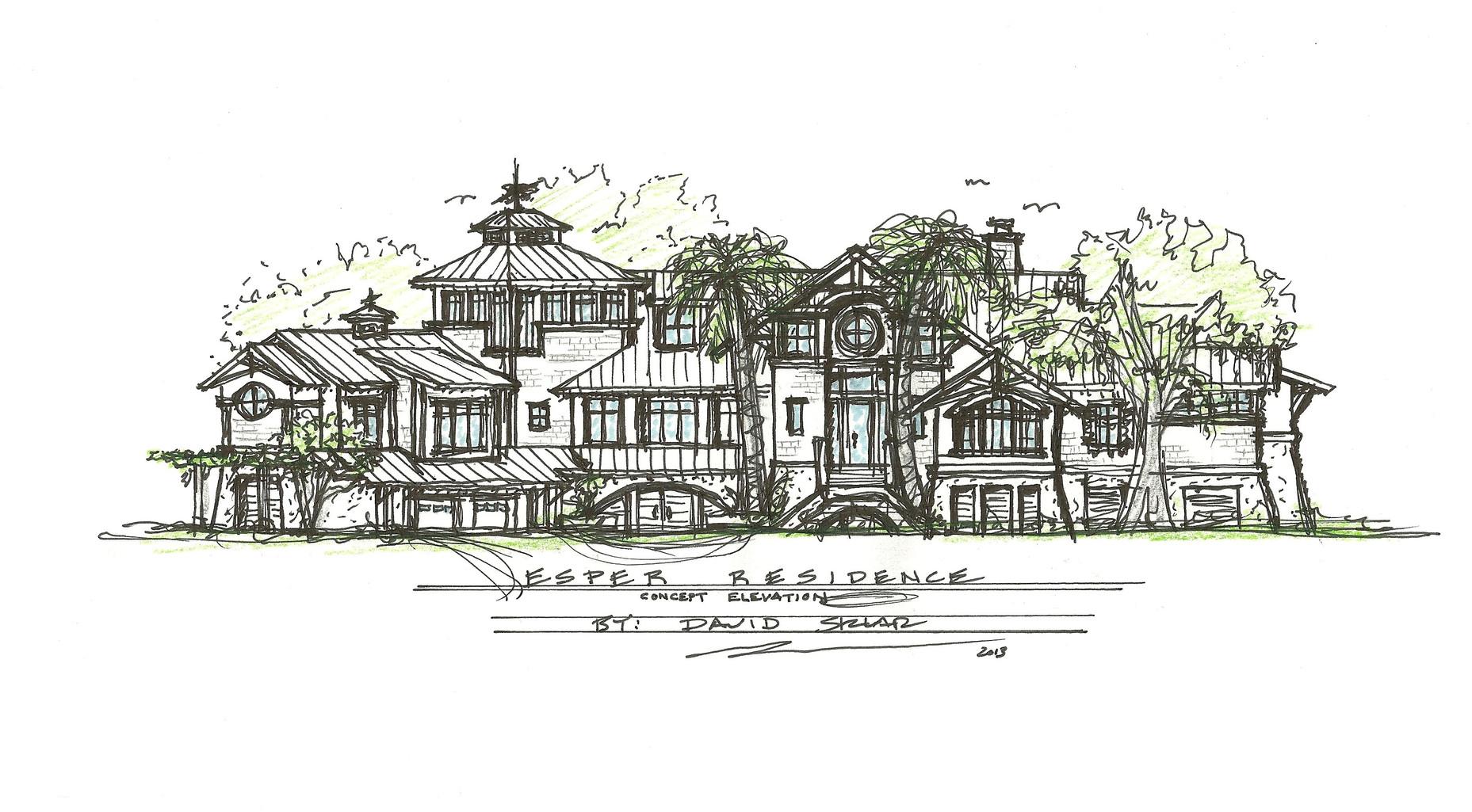 Esper Residence Conceptual Design