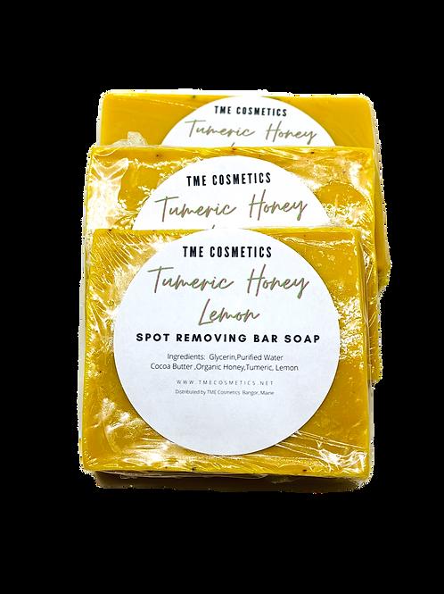 TUMERIC  HONEY  LEMON  BAR SOAP