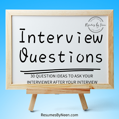 30 Question Ideas to Ask at the End of Your Next Interview
