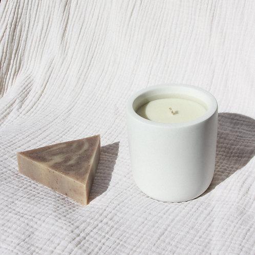 Sequoia Soap + Candle Set