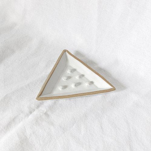 Ceramic Soap Dish in Eggshell
