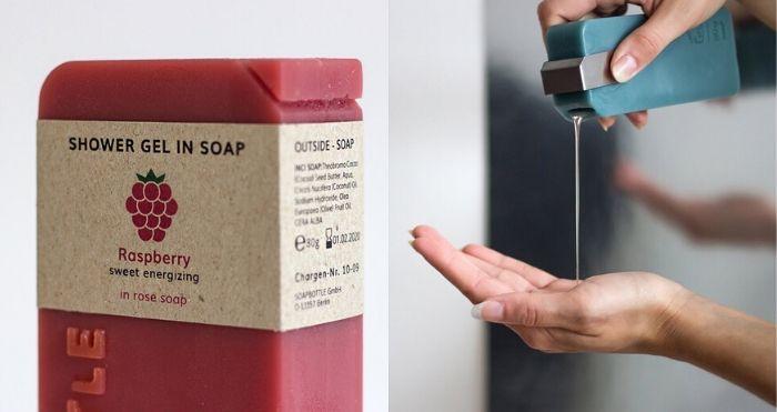 SOAPBOTTLE Zero Waste Packaging