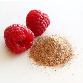 Raspberry CRUSH large fruit powder