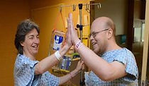 Nephrologist donated a kidney - from my